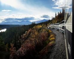Princess Rail - Directly into Denali National Park